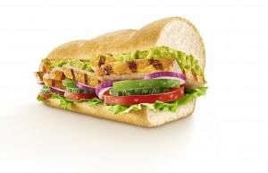 Diesen Sommer bei Subway: Avocado auf alle Subs, Wraps und Salate (hier das Chicken Fajita)