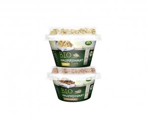 Arla BIO_Produktturm Knusperjoghurts