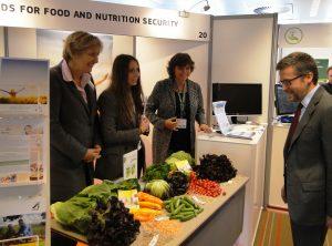 Karin Dieckmann bei Food Village 2030 der Europäischen Kommission