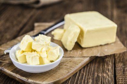 Plätzchen schmecken mit Butter