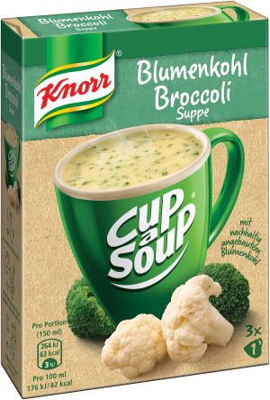 Cup a Soup_Blumenkohl Broccoli Suppe_RGB