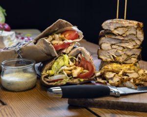 Döner, Kebab, Drehspieß