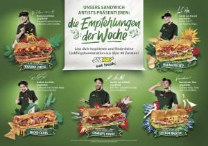 Die Empfehlungen der Woche von Subways Sandwich Artists