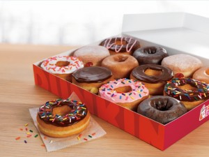 Dunkin' Donuts Box