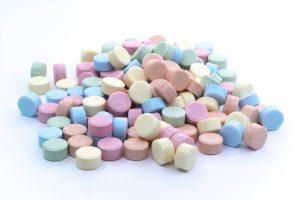 Die geringe Partikelgröße der EXBERRY® mikronisierten Pulver garantiert extrem homogene Farbtöne, selbst in Komprimaten.