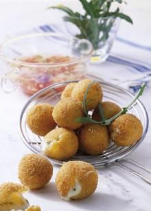 Frittierte Zottarella-Minis