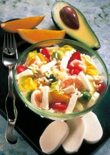 Fruchtiger-Reissalat