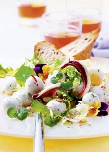 Fruehlingssalat mit Minis