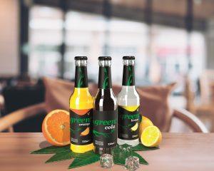 Green Cola präsentiert zwei weitere Stevia-Limonaden in der Mehrweg-Glasflasche