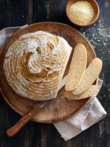 Helles No Knead Bread