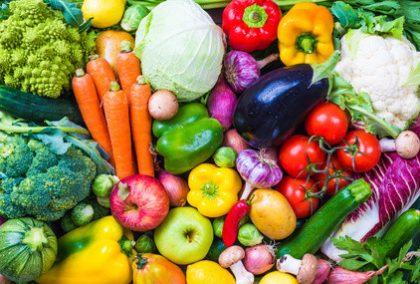 Gemüse, Früchte und Obst