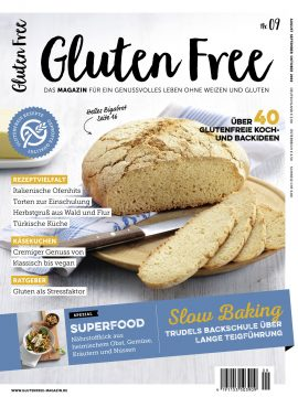 Cover des Gluten Free Magazins Nr. 9
