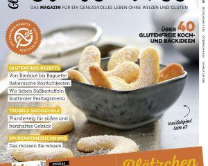 Titel des 10. Gluten Free Magazins