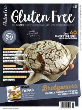 Titel des Gluten Free Magazins Nr. 11