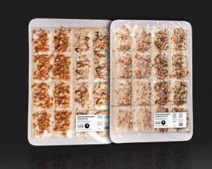 """Mit """"A"""" wie """"Apéro Flammkuchen"""" fängt bei Gusto Palatino ab sofort die Produktpalette an. Speziell bei Tagungen, Empfängen und im Cateringgeschäft bieten die innovativen Flammkuchen-Spezialitäten – neben authentischem Geschmack - Flexibilität und lukrative Umsatzpotenziale. (Bild: Gusto Palatino)"""