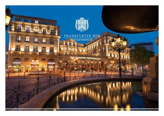 Steigenberger Frankfurter Hof: Restaurant Français nimmt am internationalen Goût de France 2017 teil