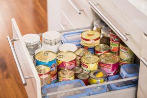 Lebensmitteldosen sind ein wichtiger Bestandteil des empfohlenen Nahrungsmittelvorrats
