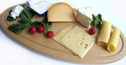Käse und Käseplatte