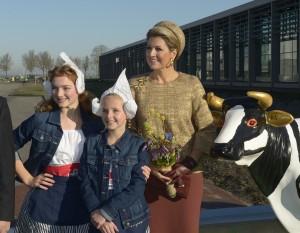 Königin Máxima eröffnet die grünste Käserei der Welt Quelle Beemster bitte nennen