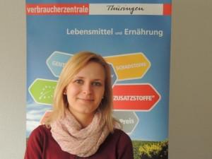 Fachberaterin für Lebensmittel und Ernährung der Verbraucherzentrale Thüringen, Julia Müller.