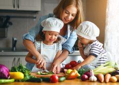 Was Kinder in der Küche lernen