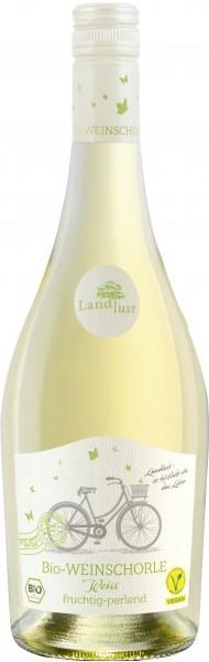 Landlust Bio-Weinschorle weiss
