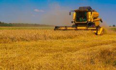 Landwirtschaft, Erntemaschine