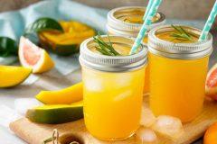 Limonade Zitrus und Mango
