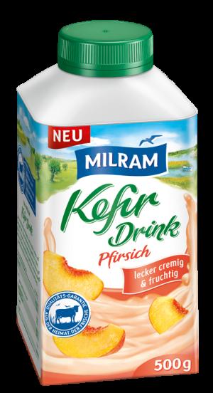 MILRAM_Kefir_Drink_Pfirsich_500g