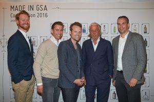 Nils Wrage, Gerhard Kozbach-Tsai, Helmut Adam, Charles Schuhmann, Thomas Huhn