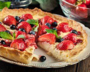 Obstkuchen, Erdbeerkuchen
