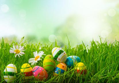 Ostereier, Eierfarben