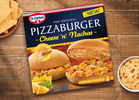 Pizza Burger Hot Dog Dr Oetker