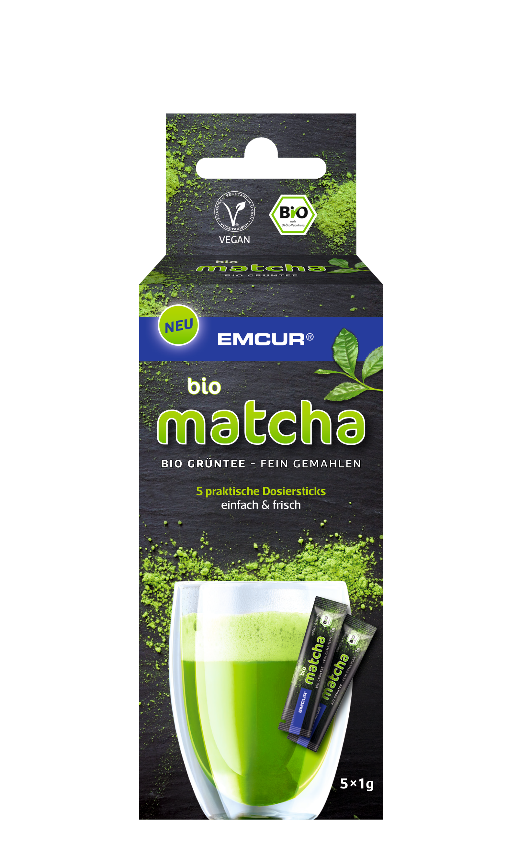 Bio Matcha von Emcur