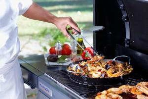Wok Für Gasgrill : Outdoor cooking in seiner ganzen vielfalt campingaz culinary
