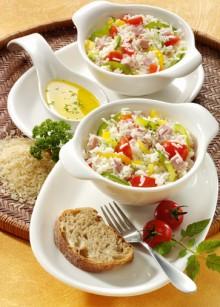 Paprika-Reis-Salat