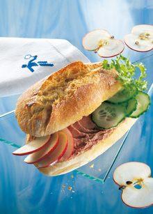 Pikantes Sandwich