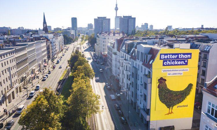 Planted Mural in Berlin