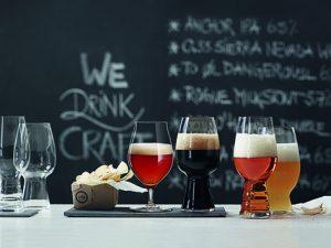 Form follows function: Die Spiegelau Craft Beer Glasses wurden in Workshops mit Craftbrauern entwickelt (Foto: Spiegelau).