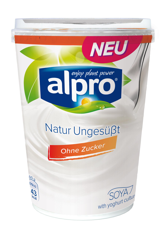Alpro: Soja-Joghurtalternative Natur Ungesüßt