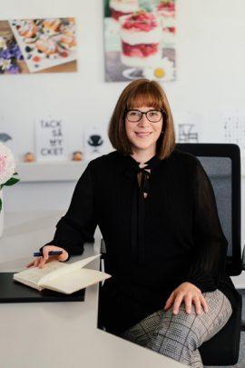 Nathalie Knauer übernahm 2020 die Geschäftsführung der Hobbybäcker-Versand GmbH