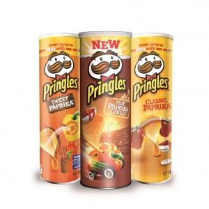 Pringles Paprika-Trio
