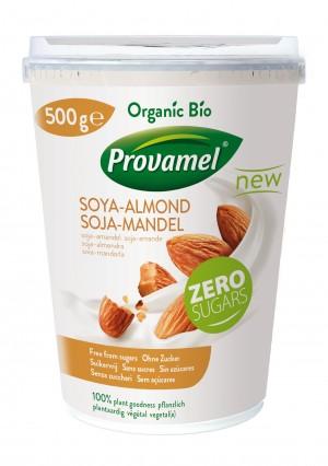 Provamel Joghurtalternative_Soja Mandel_500g front
