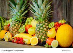 Immer für eine Erfrischung gut: Exoten und Zitrusfrüchte