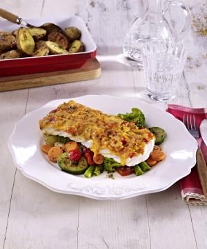 Schlemmer-Filet Italiano mit herzhaftem Gemüse Antipasti