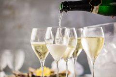 Champagner, Sekt, Sektgläser
