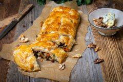 Sellerie-Strudel – so macht Gemüseessen Spaß!