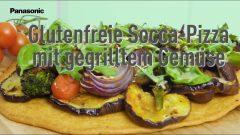 Socca Pizza aus Südfrankreich: glutenfrei mit Kichererbsenmehl