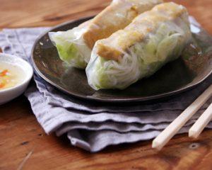 Sommerrollen mit Tofu