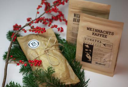 Kaffeerösterei Tres Cabezas: Veganer Weihnachtsstollen hausgemacht mit Weihnachtskaffee